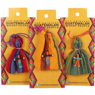 Guatemalan Worry Dolls (Small) in Pouch